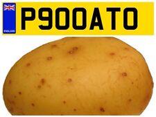 P900 ATO FOOD TRAILER SNACK SPUD HOT JACKET POTATO VAN PRIVATE NUMBER PLATE FOOD