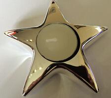 Silver Elegant Star Tealight Holder Silver Plated Decorative Ornament Gift