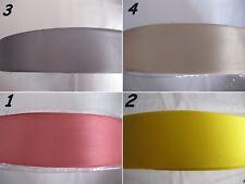 2283) Mt. 10 di Nastro di raso doppio raso alto cm. 4,5  bomboniere matrimonio f