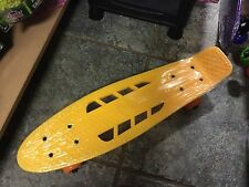 "GIALLO 22"" Mini Retro Skateboard Skate Boards Longboard Completa Board vintage"