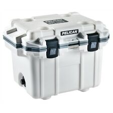 Pelican PEL30Q-1-WHTGRY 30 Quart Extreme Elite Cooler Outdoor White and Gray