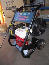 Petrol Pressure Washer giving 2200psi Ideal wheelie bin cleaning pressure washer