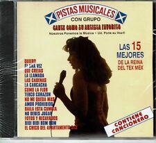Pistas Musicales Las 15 Mejores de la Reina del Tex Mex BRAND  NEW SEALED  CD