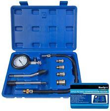 BlueSpot Coche Furgoneta Kit Probador de Compresión de Motor de Gasolina herramienta de prueba de fuga del cilindro