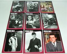 THE AVENGERS 50TH CHASE CARD SET OF 9 CARDS #F1-9