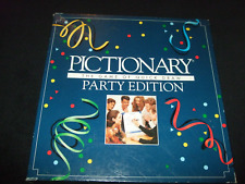 PICTIONARY PARTY EDEITION--FAMILY BOARD GAME MADE BY PARKER 1993