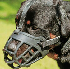 New Mascota Dog Muzzle Soft Basket Silicone Prevent Biting Allow Drinking Size 4