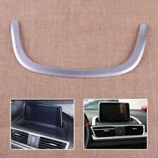 Chrome Interior Center Control Strip Cover Trim Fit For Mazda 3 Axela 2014-2017