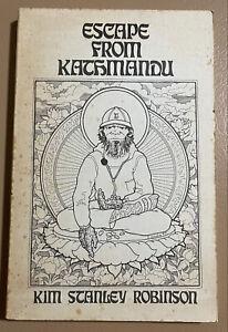 Escape From Kathmandu Kim Stanley Robinson Dean Koontz Signed First Edition Book