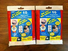 20 Kalencom Potette On The Go Potty Liners Refills (2 Packs of 10) Disposable