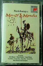 Placido Domingo in Man of La Mancha (Cassette, 1996, Sony Classical) NEW