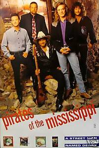 PIRATES OF THE MISSISSIPPI POSTER, A STREET MAN... (R6)