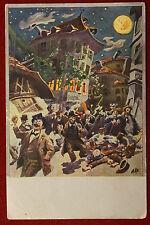 Bolzano Cà de Bezzi- anni 30, viaggiata, illustrata, animata #7749