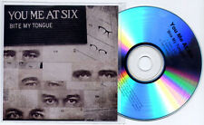 YOU ME AT SIX Bite My Tongue 2011 UK promo test CD clean / explicit / instr.