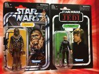 Star Wars Vintage Collection Chewbacca Kenner VC141 Luke Skywalker (Endor) VC23