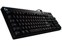 NEW Logitech G810 Spectrum Mechanical Key LED RGB Gaming ENG Keyboard Wired USB