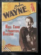 Hell Town (1937) / Frontier Horizon (1939) Dvd * John Wayne * New Sealed