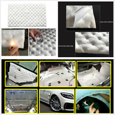 Car Sound Insulation Mat Deadener Aluminum Foil Deadening Control Noise 80*50cm