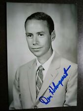Donald Holmquest Authentic Hand Signed Autograph 4X6 Photo - Nasa Astronaut