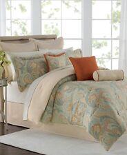 "Savannah Home Season Bedding 100% Cotton 18"" Square 2 Decorative Pillows G854"