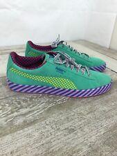 Puma Suede Classic Pop Culture Sneakers Blue/Green/Pink 367776-01 Size 11.5 RARE