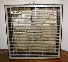 "Vintage Kel Aire 20"" Box Fan 3 Speed Brown by Keller Electric"