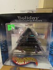 Hot Wheels Holiday Decoration Green Tree with Shoe Box Black