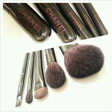 CHANEL 2015 Mini Brush Set Kit Powder Contour Eye Shadow Foundation Liner Smudge