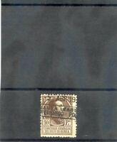 SPANISH GUINEA Sc 170(SG 182)F-VF USED 1919 10P BROWN $80