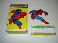 MARVELMANIA AVON PRODUCTS SPIDERMAN TOOTHBRUSH HOLDER & 2 BRUSHES NEW IN BOX
