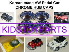 VINTAGE HUB CAPS FOR VW VOLKSWAGEN BEETLE BUG PEDAL CAR ELECTRIC VERSION