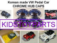 VINTAGE HUB CAPS FOR VW VOLKSWAGEN BEETLE BUG PEDAL CAR ELECTRIC VERSION