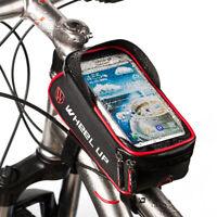 Borsa Borsetta TUBO anteriore impermeabile Porta Cellulare Bici Ciclismo Bag MTB