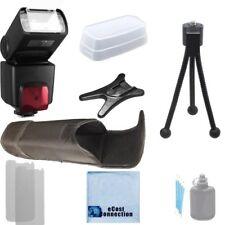 XIT XTSB1010 Digital SLR TTL Flash /LCD for Nikon D3000 D3100 D3200 D3300, Kit