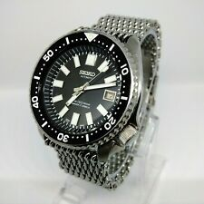 VINTAGE SEIKO SUBMARINER 6217 Dial & Hands 62MAS Modded 7002 SCUBA DIVERS WATCH