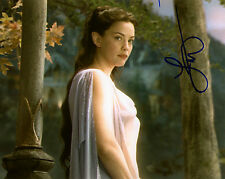 LIV TYLER AUTOGRAPH SIGNED 8x10 PHOTO THE LORD OF THE RINGS ARWEN COA