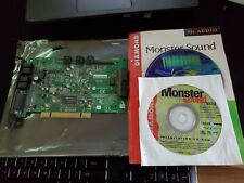 UnTested Diamond Monster Sound MX300 Aureal Vortex 2 A3D PCI Sound Card