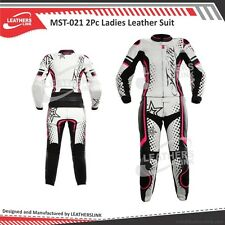 Women Motorcycle Motorbike Racing Biker Leather  Suit MST-021-A(USA 12,14,16)