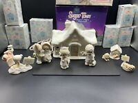 Precious Moments Sugar Town Doctor's Office 7 Piece Set by Enesco 529281