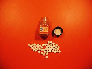 ORIGINAL Bottle of 50 Lionel  SP Smoke Pellets in ORANGE Label Bottle, EX Cond