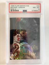 Michael Jordan PSA 8 (Pop 199, only 211 higher) - 1996 Flair Showcase Row 2 #23