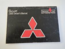 1995 MITSIBUSHI GALANT NICE USED FACTORY ORIGINAL OWNERS MANUAL HANDBOOK