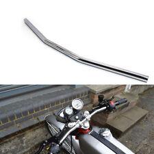 Chrome 7/8 Drag Style Bar Motorcycle Handlebars for Custom Chopper Brat Rat Cafe