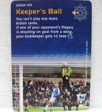 FOOTBALL CHAMPIONS PREMIER LEAGUE 2002-03 - KEEPER'S BALL - carta azione A30