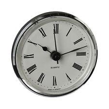 Uhrwerk I Quartz I Einsteckwerk I Einbau-Uhr l Modellbau-Uhr l Ø 66 mm l no.8075