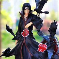 NARUTO Uzumaki Uchiha Itachi Akatsuki PVC Statue Action Figure Shippuden