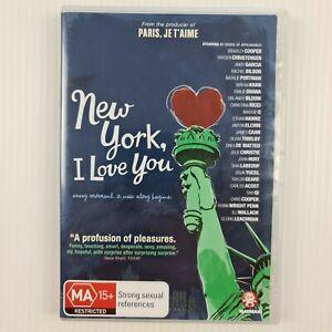 New York, I Love You DVD - Region 4 PAL - TRACKED POSTAGE