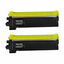 2PK TN210 Black Toner Cartridges for Brother Laserjet Printer MFC-9120CN HL-3045