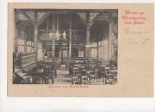 Gruss Aus Oberstaufen Schlosshalle 1900 U/B Postcard Germany 068b