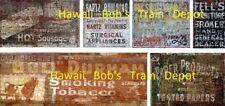 Ho Scale Ghost Decals Set # 4 Building, Fences, Walls, Buildings